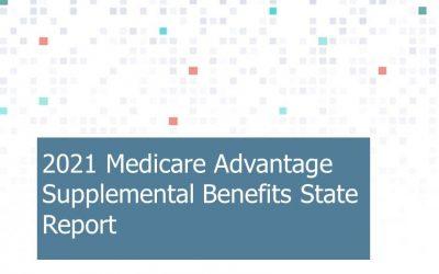 2021 Medicare Advantage Supplemental Benefits State Reports